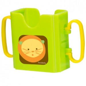 juice box holder green